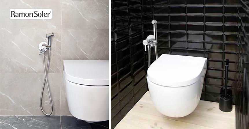 Ducha higiénica WC Magnet de Ramon Soler